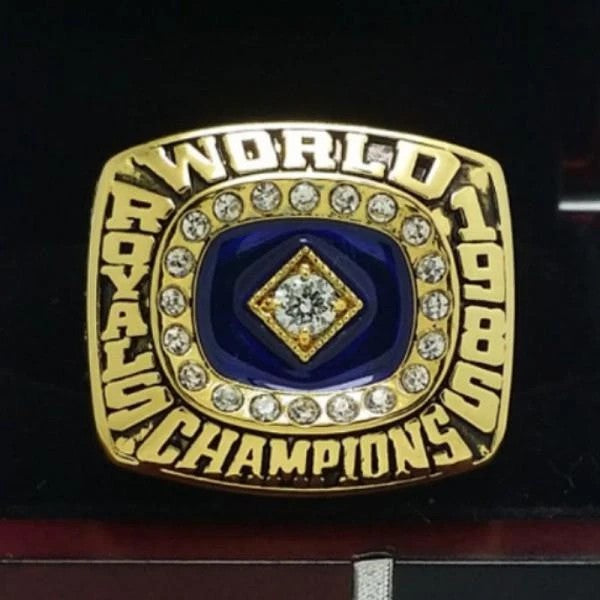 1985 Kansas City Royals World Series Ring - Premium Series - foxfans.myshopify.com