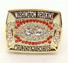 Load image into Gallery viewer, 1987 Washington Redskins Super Bowl Championship Ring