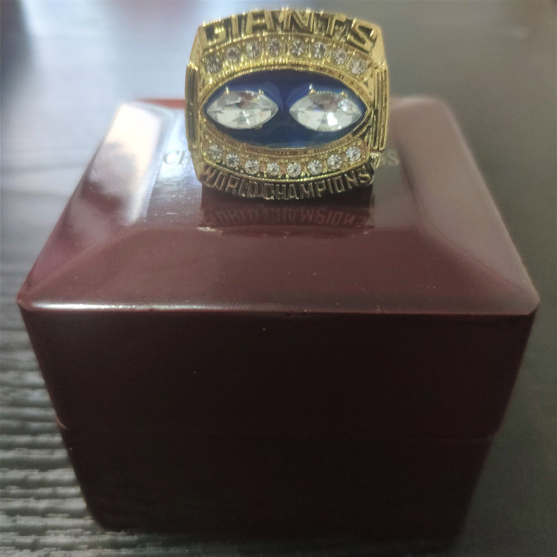 1990 New York Giants Super Bowl Championship Ring - foxfans.myshopify.com