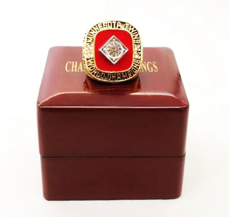 1991 Minesota Twins World Series Championship Ring - foxfans.myshopify.com