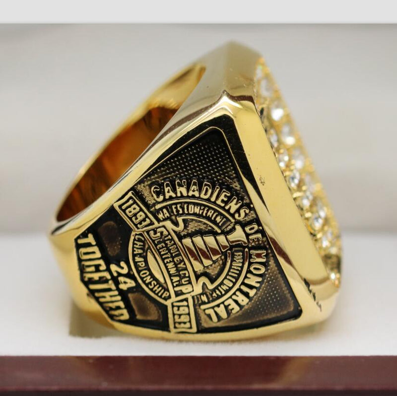 1993 Montreal Canadiens Stanley Cup Ring - Premium Series