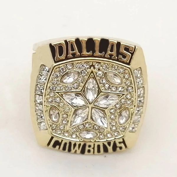 1995 Dallas Cowboys Super Bowl Championship Ring - foxfans.myshopify.com