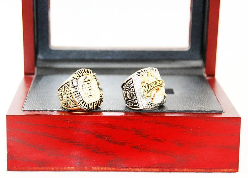 1997/2003 Florida Marlins World Series Championship Ring Sets - foxfans.myshopify.com