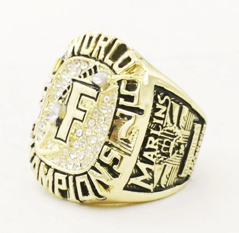 1997 Florida Marlins World Series Championship Ring - foxfans.myshopify.com