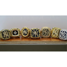 Load image into Gallery viewer, 1977/1978/1996/1998/1999/2000/2009 New York Yankees World Series Ring  Set - Premium Series - foxfans.myshopify.com