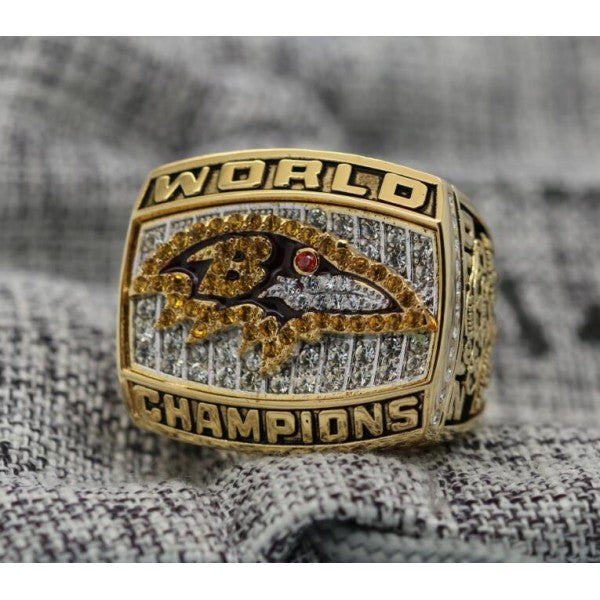 2000 Baltimore Ravens Super Bowl Ring - Premium Series
