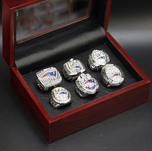 Load image into Gallery viewer, 2001/2002/2004/2014/2016/2018 New England Patriots Super Bowl Championship Rings Set