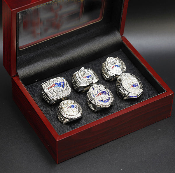 2001-2018 New England Patriots Super Bowl Championship Rings Set - foxfans.myshopify.com
