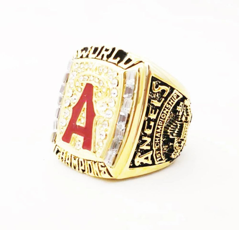2002 Anaheim Angels World Series Championship Ring - foxfans.myshopify.com