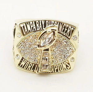 2002 Tampa Bay Buccaneers Super Bowl Championship Ring