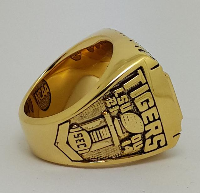 2003 Louisiana State University (LSU) College Football National Championship Ring - Premium Series