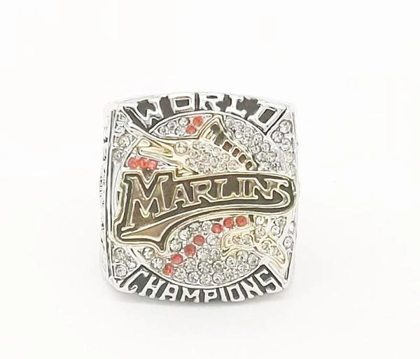 2003 Florida Marlins World Series Championship Ring - foxfans.myshopify.com