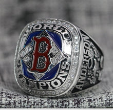 Load image into Gallery viewer, 2004 Boston Red Sox MLB World Series Championship Ring - Premium Series - foxfans.myshopify.com