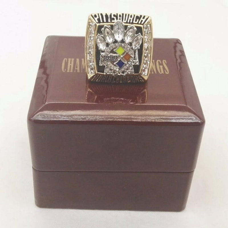 2005 Pittsburgh Steelers Super Bowl Championship Ring - foxfans.myshopify.com