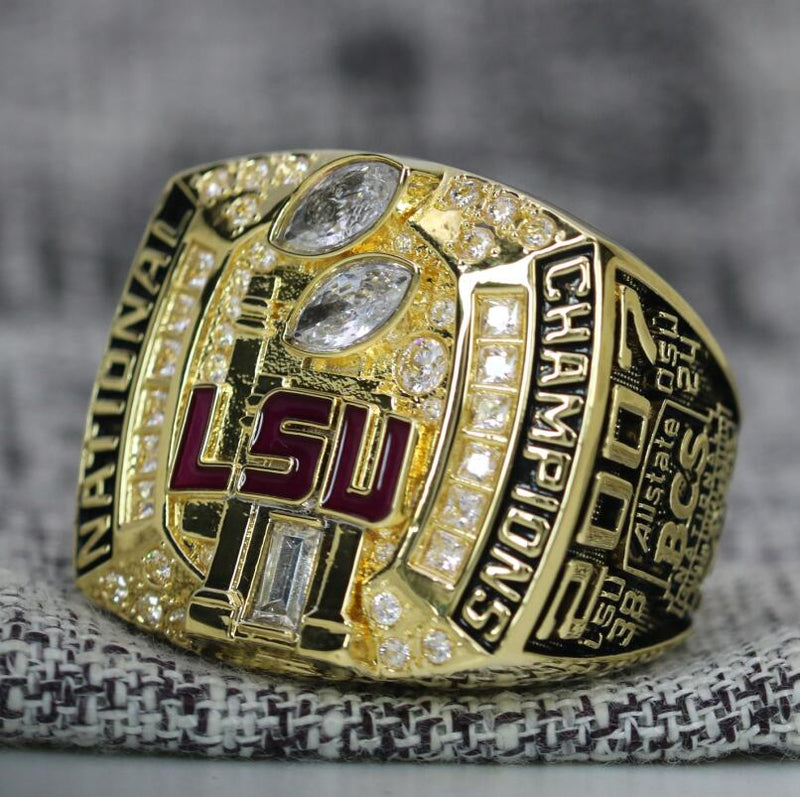 2007 Louisiana State University (LSU) College Football National Championship Ring - Premium Series