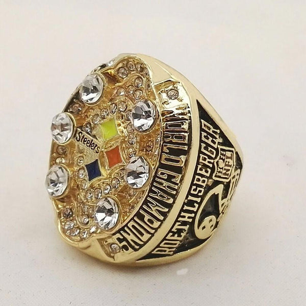 2008 Pittsburgh Steelers Super Bowl Championship Ring - foxfans.myshopify.com