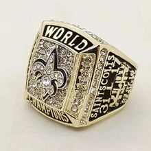 Load image into Gallery viewer, 2009 New Orleans Saints Super Bowl Championship Ring - foxfans.myshopify.com