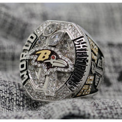 2012 Baltimore Ravens Super Bowl Ring - Premium Series