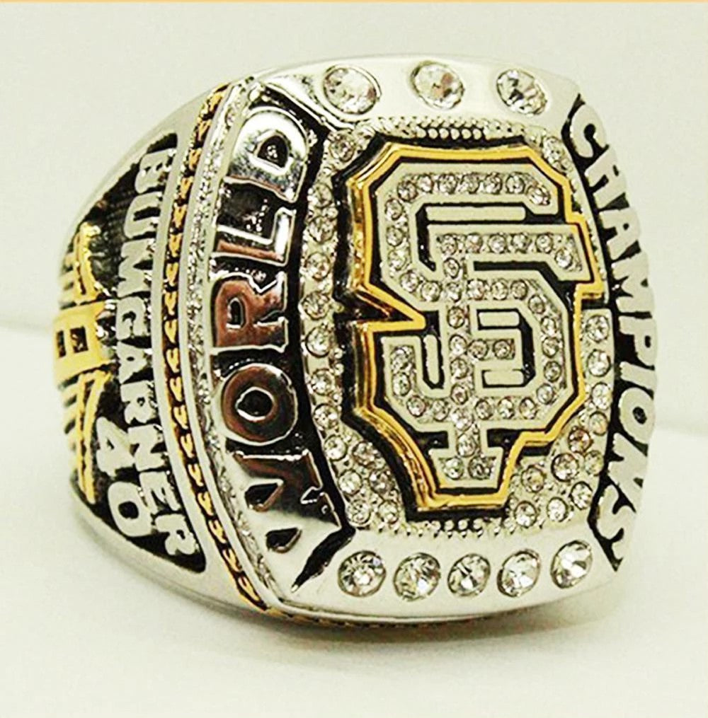 2014 San Francisco Giants World Series Championship ring