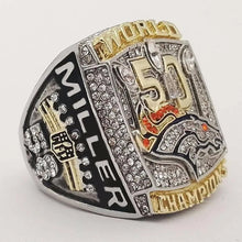 Load image into Gallery viewer, 2015 Denver Broncos Super Bowl Championship Ring - foxfans.myshopify.com