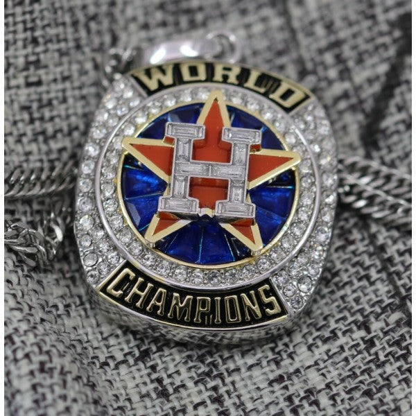 Houston Astros World Series Championship Pendant/Necklace (2017) - Premium Series