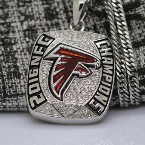 Atlanta Falcons NFC Championship Pendant/Necklace (2016) - Premium Series