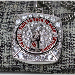 Oklahoma Sooners Big 12 Championship Pendant/Necklace (2017) - Premium Series