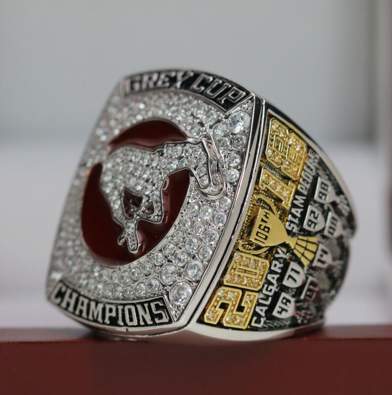 2018 Calgary Stampeders CFL Grey Cup Championship Ring - Premium Series - foxfans.myshopify.com
