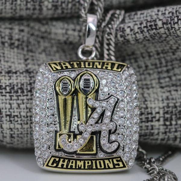 Alabama Crimson Tide Sugar Bowl National Championship Pendant/Necklace (2018) - Premium Series