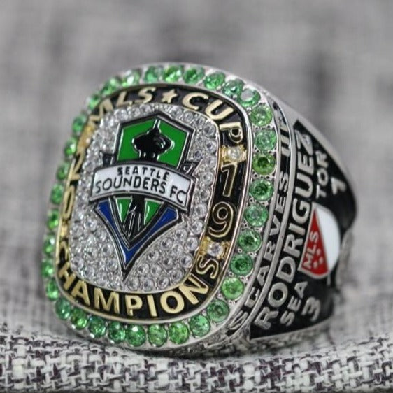 2019 Seattle Sounders MLS Championship Fan Ring - Premium Series