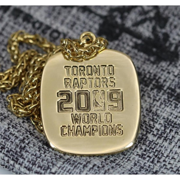 Toronto Raptors NBA Championship Pendant/Necklace (2019) - Premium Series