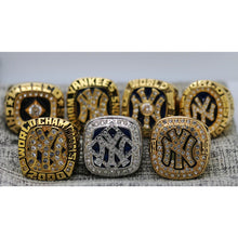 Load image into Gallery viewer, 1977/1978/1996/1998/1999/2000/2009 New York Yankees World Series Ring  Set - Premium Series