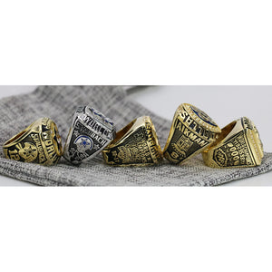 1971/1977/1992/1993/1995 Dallas Cowboys Super Bowl Ring Set - Premium Series