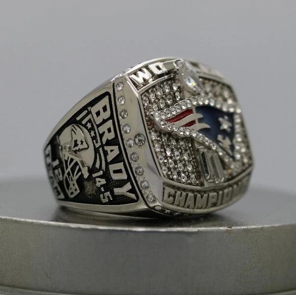 2001 New England Patriots Super Bowl Ring - Premium Series - foxfans.myshopify.com