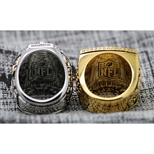 2001/2013 Baltimore Ravens Super Bowl Ring Set- Premium Series