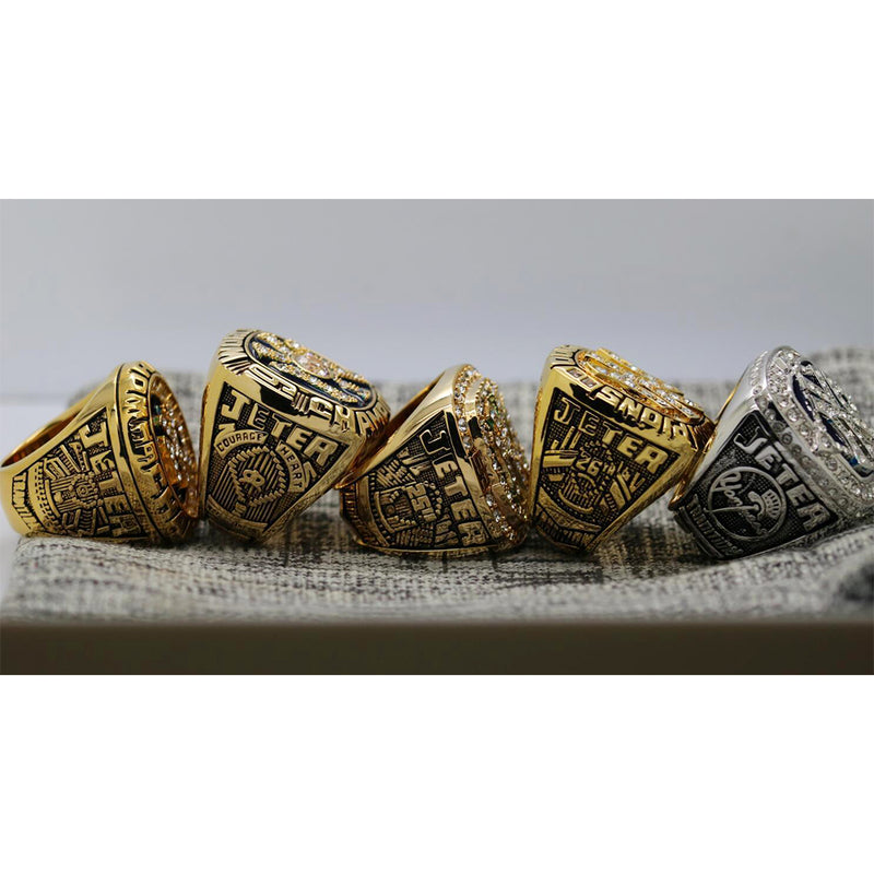 1996/1998/1999/2000/2009 New York Yankees World Series Ring  Set - Premium Series - foxfans.myshopify.com