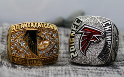 1998/2016 Atlanta Falcons NFC Championship Ring Set- Premium Series