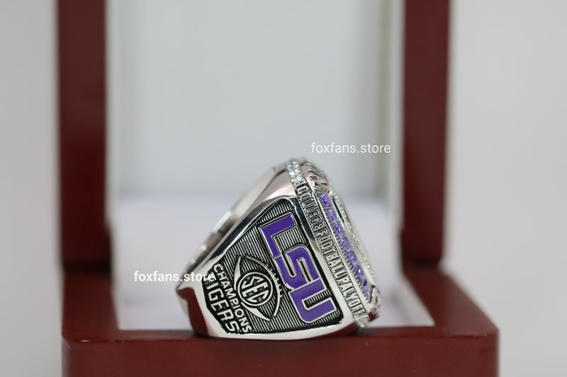 2019 Louisiana State University (LSU) College Football Playoffs Championship Ring - Premium Series