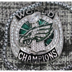 Philadelphia Eagles Super Bowl Pendant/Necklace (2018) - Premium Series