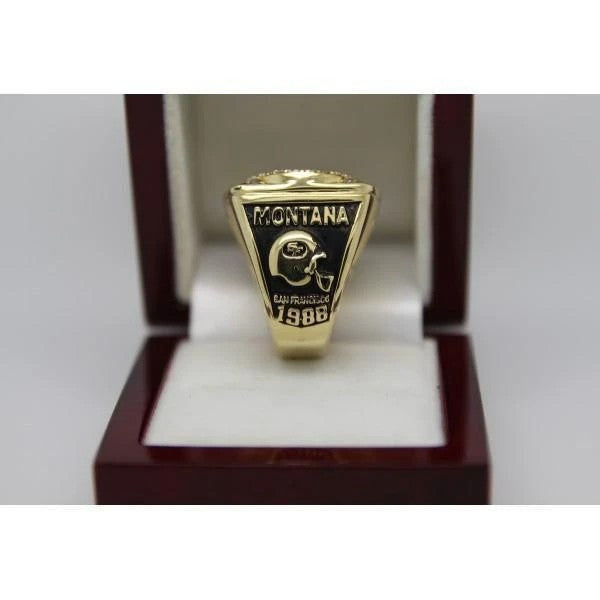 1988 San Francisco 49ers Super Bowl Ring - Premium Series - foxfans.myshopify.com