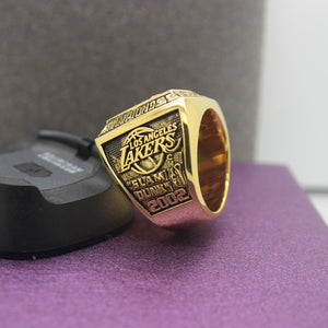 2002 Los Angeles Lakers NBA Championship Ring - Premium Series - foxfans.myshopify.com