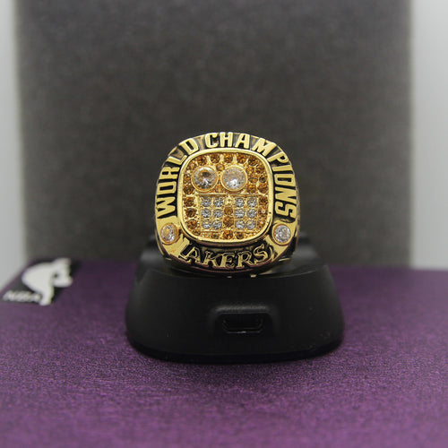 2001 Los Angeles Lakers NBA Championship Ring - Premium Series - foxfans.myshopify.com