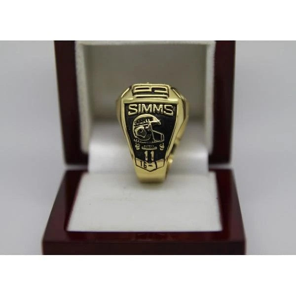 1990 New York Giants Super Bowl Ring - Premium Series - foxfans.myshopify.com