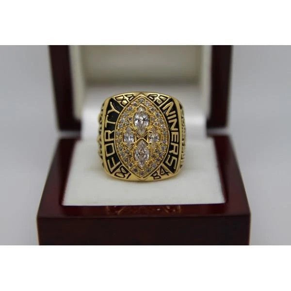 1989 San Francisco 49ers Super Bowl Ring - Premium Series - foxfans.myshopify.com