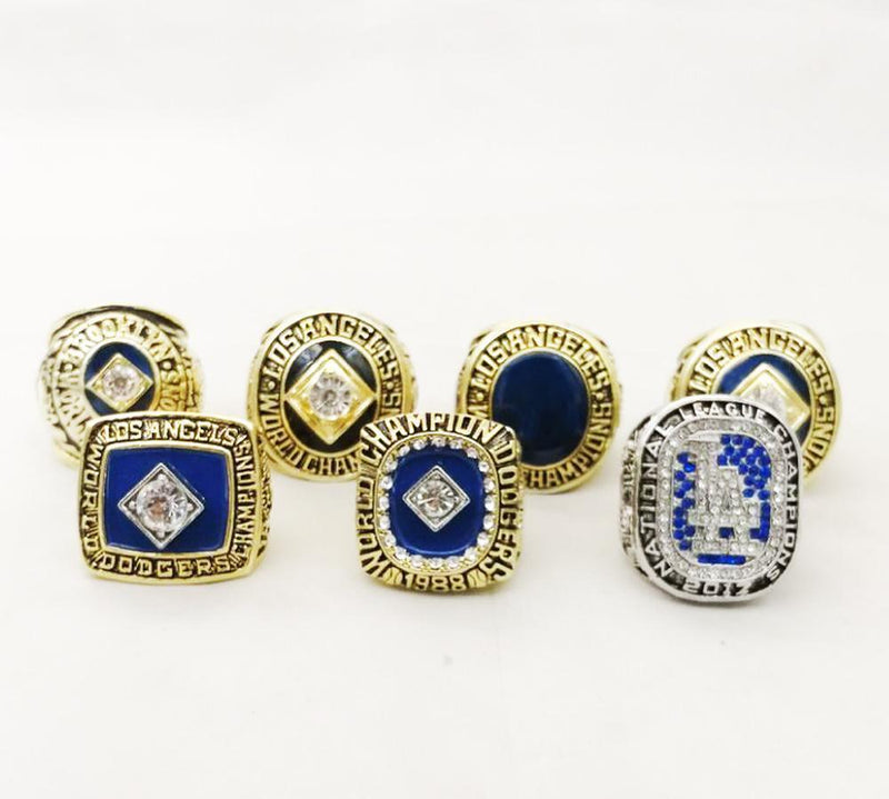 Los Angeles Dodgers World Series Championship Rings Sets - foxfans.myshopify.com