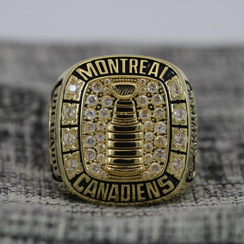 1956 Montreal Canadiens Stanley Cup Ring - Premium Series