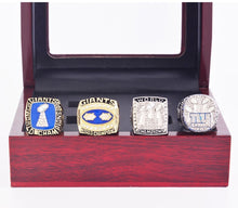 Load image into Gallery viewer, 1986-2011 New York Giants Super Bowl Championship Rings Set
