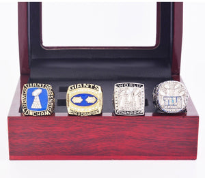 1986-2011 New York Giants Super Bowl Championship Rings Set