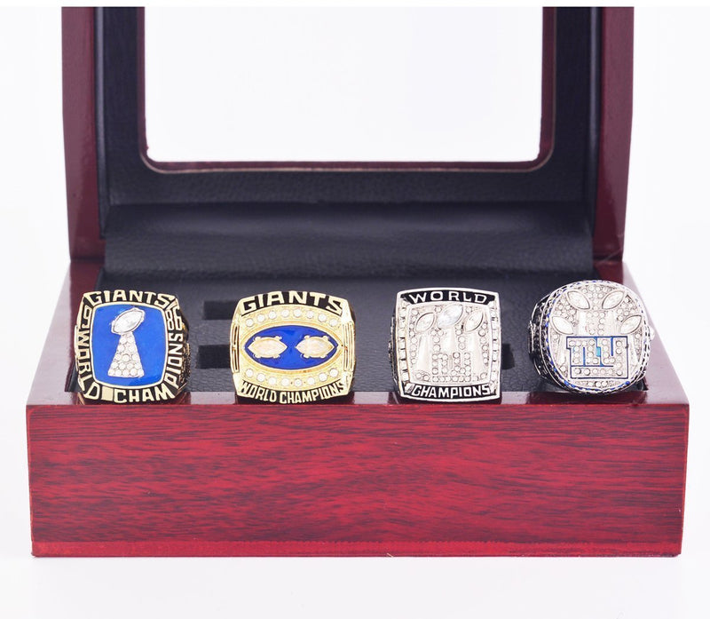 1986-2011 New York Giants Super Bowl Championship Rings Set - foxfans.myshopify.com