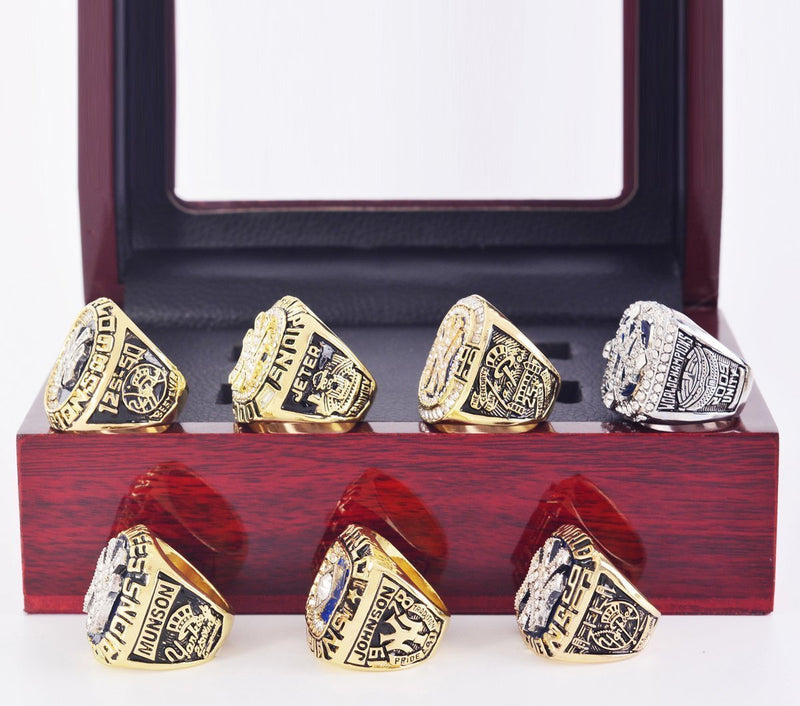New York Yankees World Series Championship Rings Set - foxfans.myshopify.com